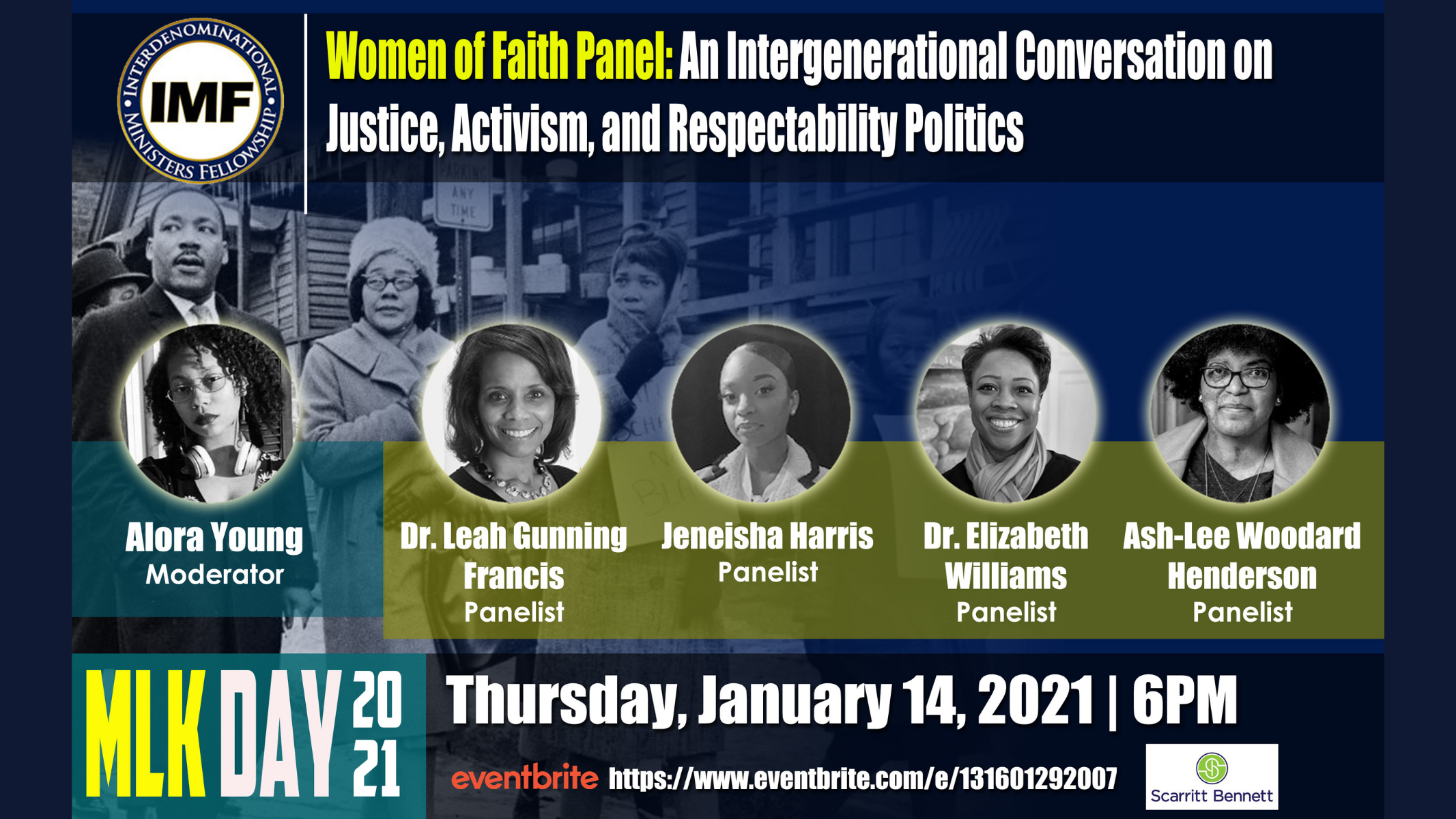 Women of Faith Panel: An Intergenerational Conversation on Justice, Activism and Respectability Politics