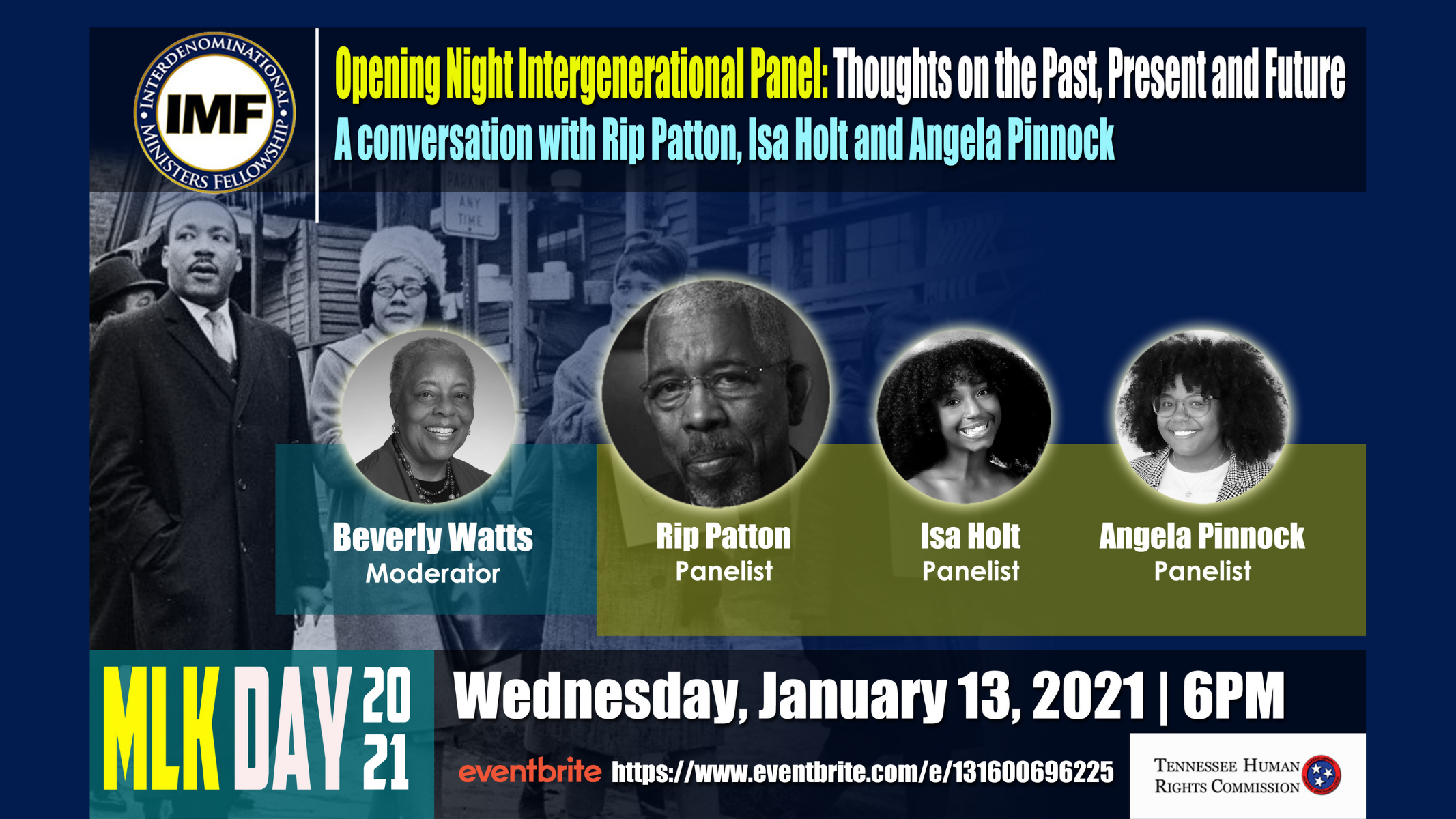 MLK Opening Night Intergenerational Panel: Thoughts on the Past, Present, and Future