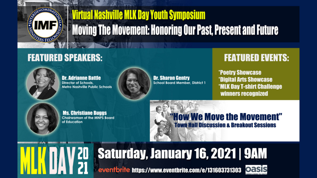 Virtual Nashville MLK Youth Symposium