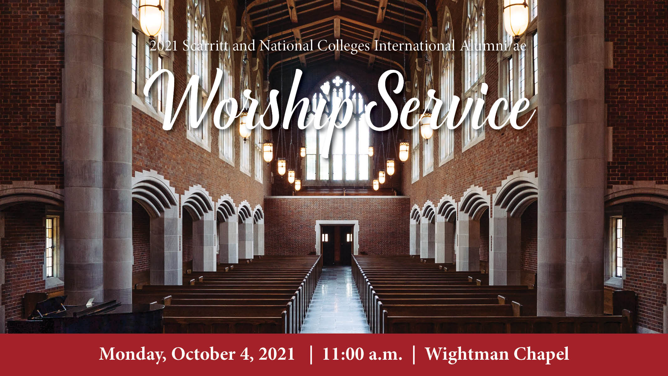 2021 Scarritt and National Colleges Alumni/ae Worship Service